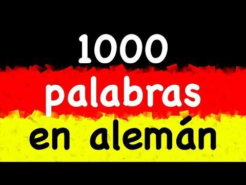 1000 Palabras En Alemán Aprender Alemán Con Un Nativo 3