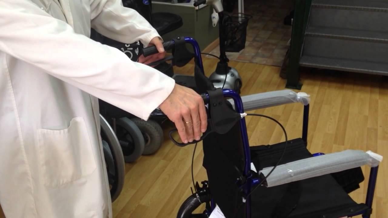 Silla ruedas aluminio de viaje youtube - La boutique de la silla madrid ...