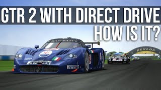 GTR 2 - How Does It Feel With A Direct Drive Wheel?