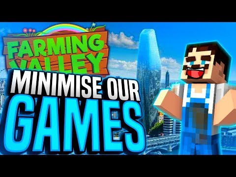 Minecraft Farming Valley #42 - We All Minimise Our Games