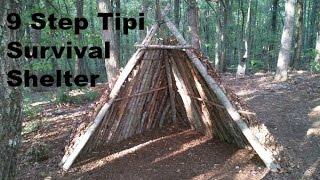 DIY- Tipi Survival Shelter