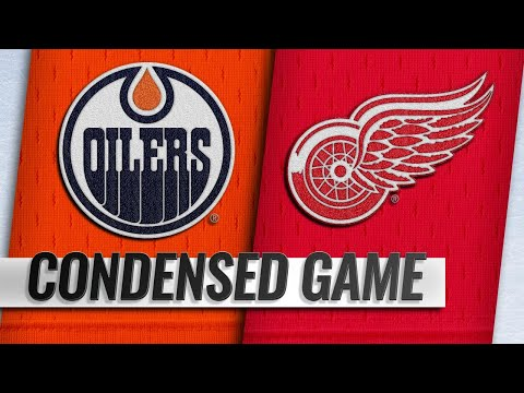 11/03/18 Condensed Game: Oilers @ Red Wings