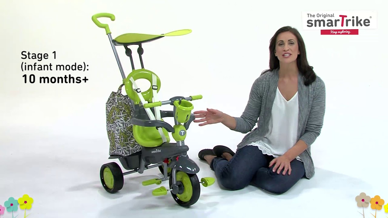 79b5b16973d 4-in-1 Baby Tricycle by smarTrike® - Groove - YouTube