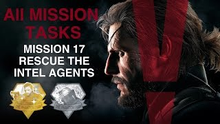 Metal Gear Solid V: The Phantom Pain - All Mission Tasks (Mission 17 - Rescue The Intel Agents)