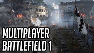 BATTLEFIELD 1 - Multiplayer: Conquista no Mapa Amiens! (BF1 PC Gameplay)