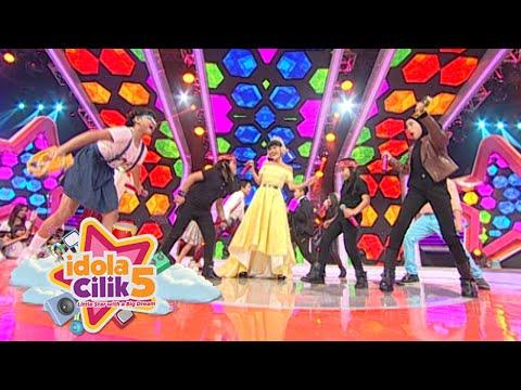 Duet Kak Jupe & 9 Finalis ICIL 'Dangdut Is The Music Of My Country' [Idola Cilik 5] [6 Feb 2016]