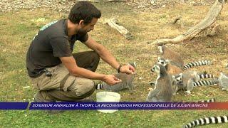 Yvelines | Soigneur animalier au zoo de Thoiry, la reconversion professionnelle de Julien Barone
