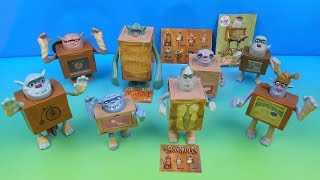 Download Lagu 2014 THE BOXTROLLS SET OF 8 McDONALD'S HAPPY MEAL MOVIE TOY'S VIDEO REVIEW mp3