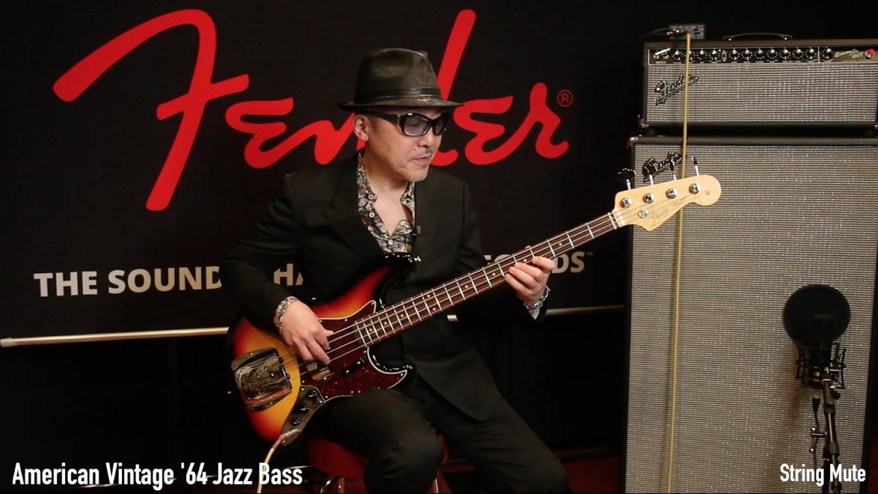 Fender Jazz Bass × 根岸孝旨 - ...