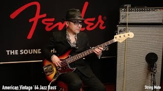 Fender Jazz Bass × 根岸孝旨