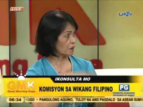 Manwal ng tamang Filipino inirekomendang gamitin ng media
