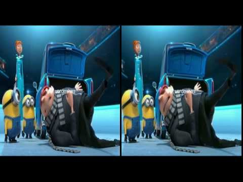 3D side-by-side View Despicable Me 2  Official Trailer #3 HD (yt3d:enable=true)