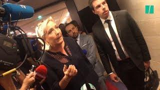 Affaire Benalla : des députés LREM perturbent une interview de Marine Le Pen