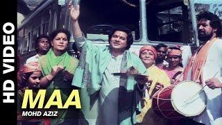 Maa - Aman Ke Farishhtey | Mohd Aziz | Dev Anand, Javed Jaffery, Asif, Kader Khan & Roopa Ganguly