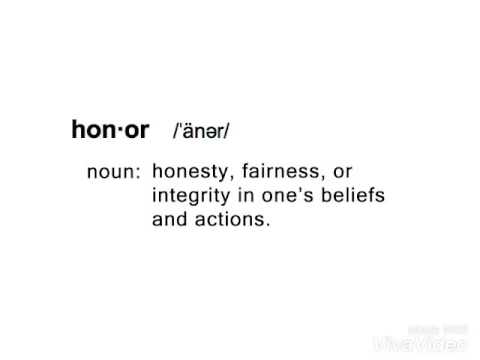 my definition of honor video essay ryan joy  my definition of honor video essay ryan joy