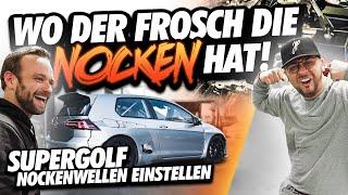 JP Performance - Wo der Frosch die Nocken hat! | VW Supergolf Nockenwellen einstellen