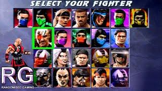 Ultimate Mortal Kombat 3 - Sega Saturn - Fight Gameplay [720p 60fps]