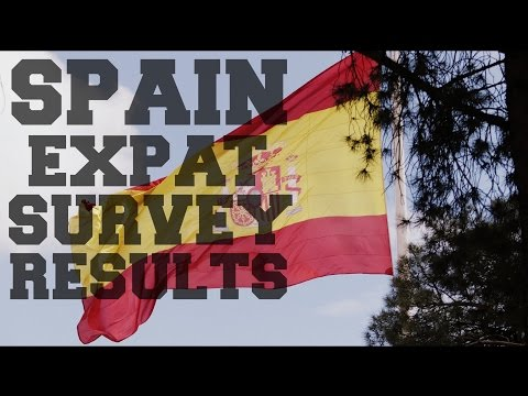 Living in Spain - Spain expat survey results analysis