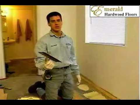 Glue Down Installation for hardwood flooring