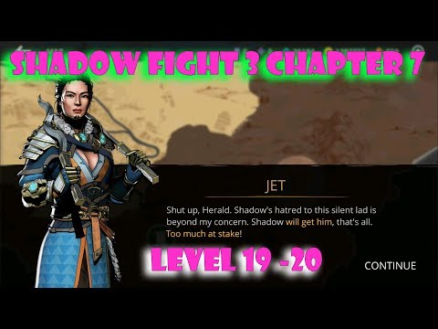 Shadow Fight 3 Chapter 7: defeat Jet (First boss) √