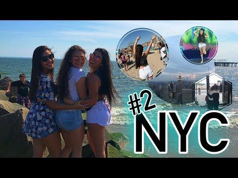 New York | VLOG 2 - Brooklin Bridge, Coney Island, Top of the Rock