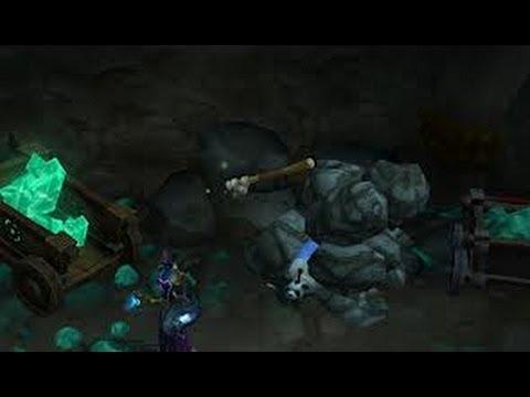 WoW :  Ancient PandarenMinng Pick