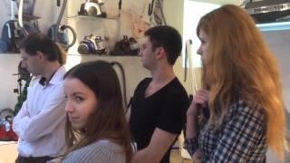 Обучение дизайнеров консультантов Дриада MSK в учебном центре ELECTROLUX