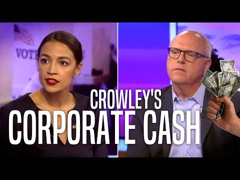 Alexandria Ocasio-Cortez Calls Out Joe Crowley's Corruption in Debate