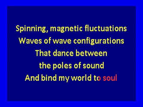silver apples  - oscillations (karaoke)