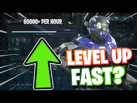 How To Rank Up Fast Halo Reach MCC -Halo Reach MCC Level Up Fast After New Xp System