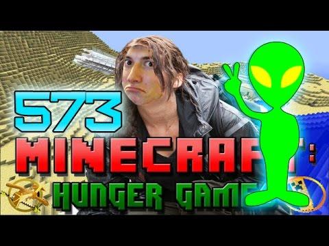 Minecraft: Hunger Games w/Mitch! Game 573 - ALIEN SPACESHIPS!