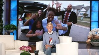Ellen Surprises 'Champions of Change,' The West Family