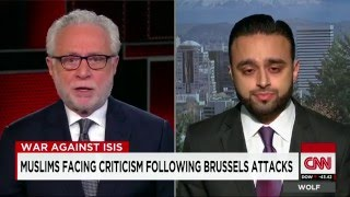 CNN: Ahmadiyya spokesperson @Harris_Zafar talks to Wolf Blitzer about Brussels attacks