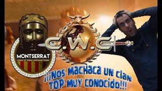¡CWC MONTSERRAT VS DARK LOOTERS Y - TOP CLAN! ENTRENANDO PARA CWC! Clash of Clans - [ALGAME]