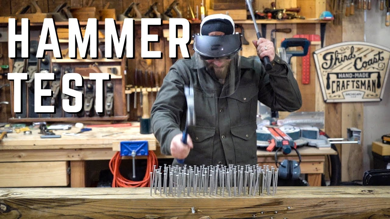 New Estwing Vs Titanium Hammer // Kinetic Energy Tests and Reviews