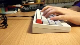 HHKB Type-S (Silent) Topre - Typing Sound Test