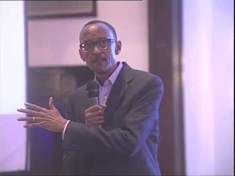 Rwanda, Inc. book launch attended by President Kagame- Kigali, 18 January 2013
