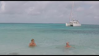 #clearwaters #bluebirds WE HAD TO GO NAKED. What a paradise! Sailing Ocean Fox Ep 68