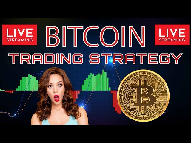 BITCOIN LIVE CHART  - Live Signals BUY & SELL SIGNALS   #Bitcoin #Crypto
