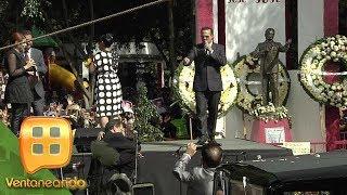 ¡Los fanáticos de José José desbordaron emoción en la colonia Clavería! | Ventaneando