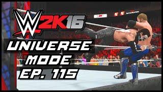 WWE 2K16   Universe Mode - 'ELIMINATION CHAMBER!' (PART 2)   #115