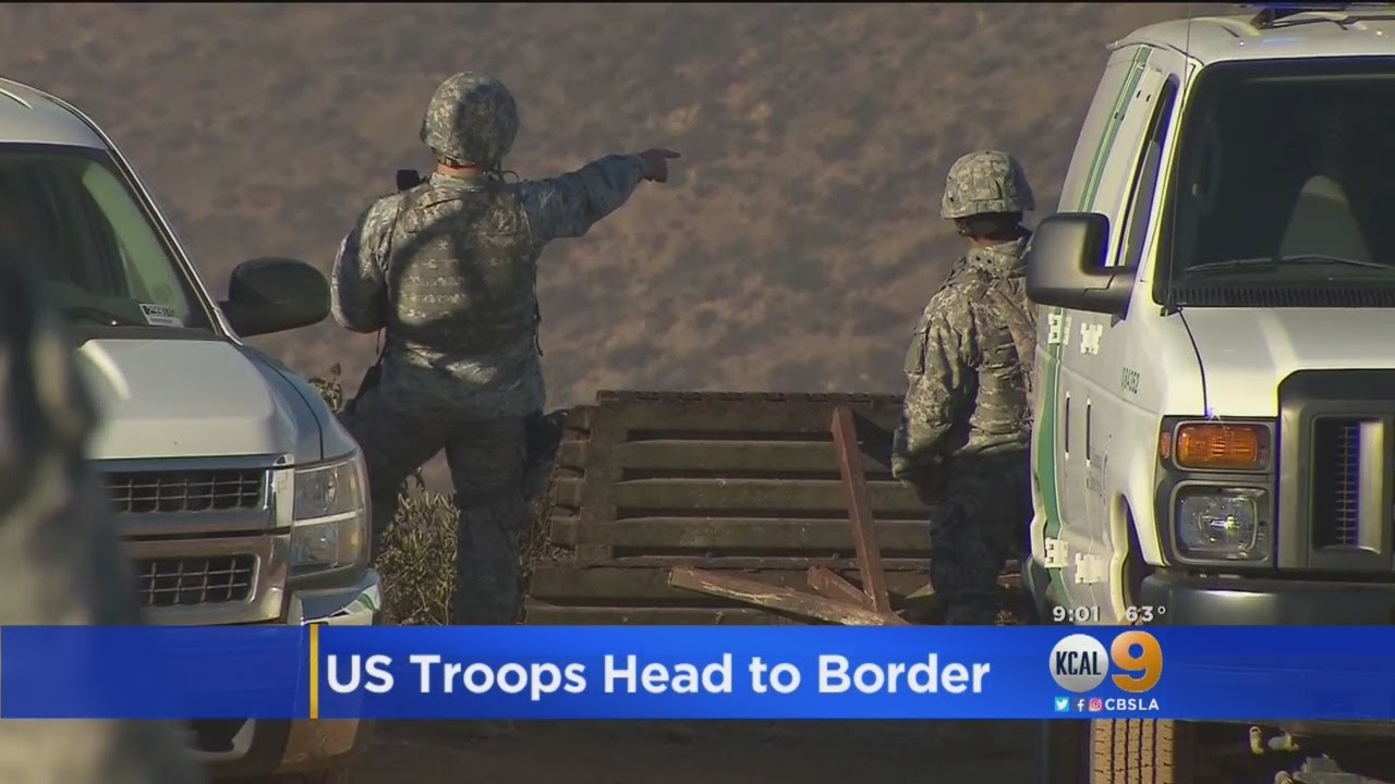 US Will Send Over 5,200 Troops To US-Mexico Border They're On Their Way My People...