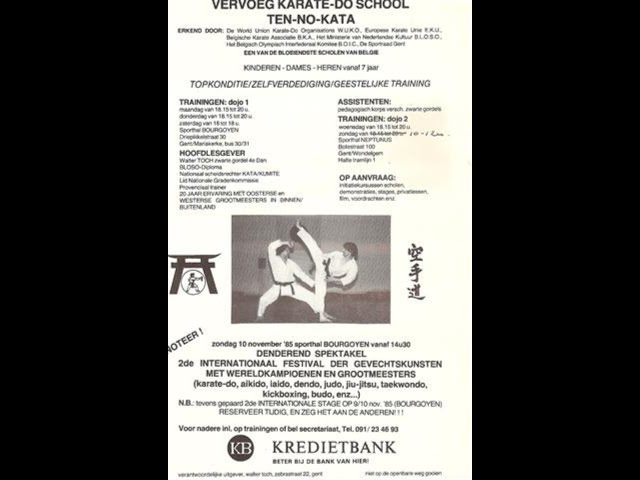 If you are going to do something do it right reflexi propaganda Sifu W  Toch 1986