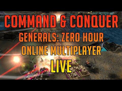 Command And Conquer Generals Zero Hour LIVE - Expert FFA Tournament, Domi Gameplay