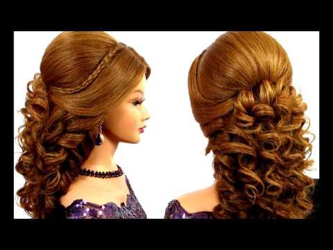 Красивые вечерние прически на длинные волосы/Beautiful formal hairstyles for long hair