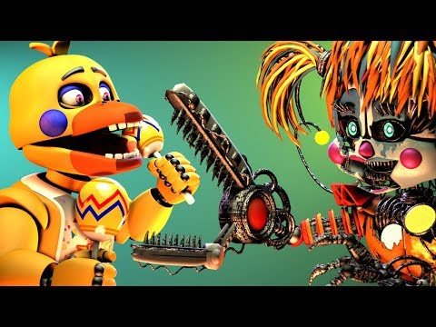 [FNaF SFM] Scrap Baby VS. Rockstar Chica (Five Nights At Freddy's Animation) thumbnail