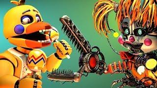 [FNAF SFM] Scrap Baby VS. Rockstar Chica (UCN Animation)