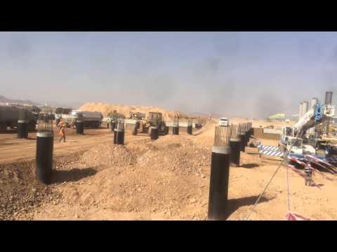 Saudi Airlines Catering Building - TAV Construction Update 26/11/2014