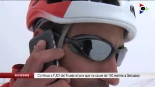 El jove de Montagut i Oix que va caure de 150 metres a Setcases continua a l'UCI del Trueta