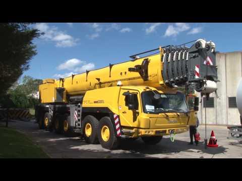 GRÚA GROVE GMK6300L All Terrain - Seis Ejes - 300 Tns - 120m | COVEMA SACIF